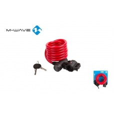 M-Wave Bicycle Key Lock (10X1800mm)