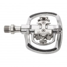 M-Wave Drag-T1 Combination Pedal Silver