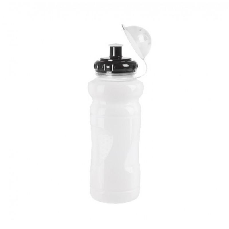 M-Wave PBO 700ml Transparent Water Bottle White