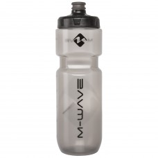 M-Wave PBO 750ml Water Bottle Black Transparent