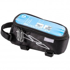 M-Wave Rotterdam Top Tube Bag Large Black Grey