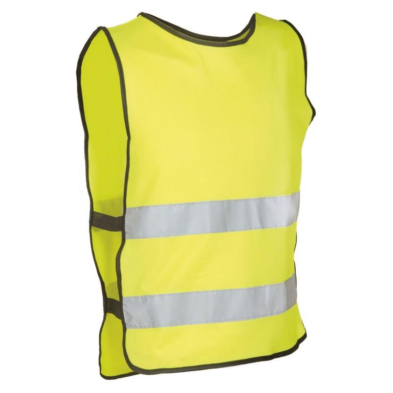 M-Wave Vest Illu Safety Vest Yellow